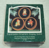Hallmark Expandable Ornament Display Stands - Set of 3 - An Exciting New Way to Display Hallmark Christmas Ornaments