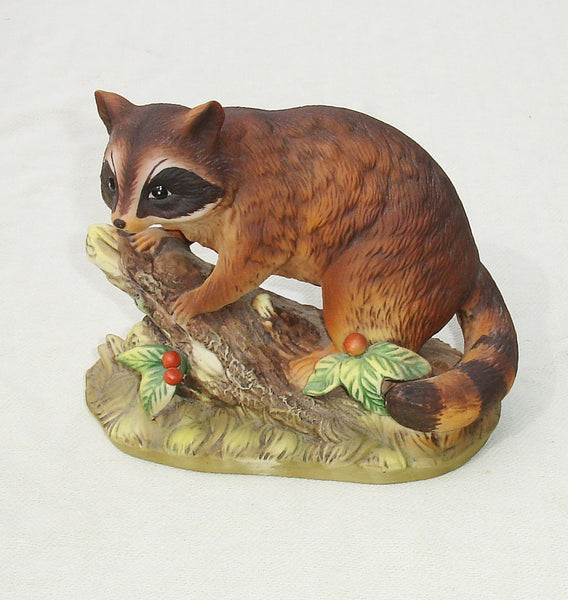 Racoon Figurine By Homco Master Piece Collection