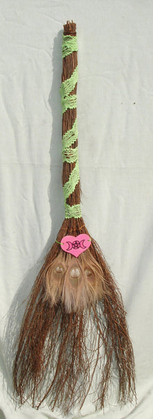 Decorative Large Handfasting Broom - Jump the Broom - Witches Besom