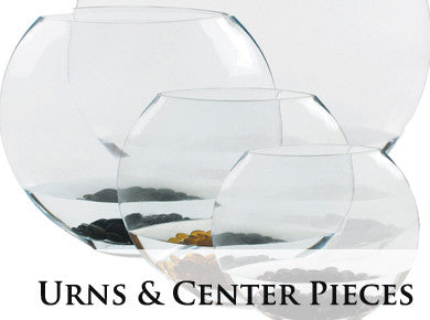 Urns and Center Pieces
