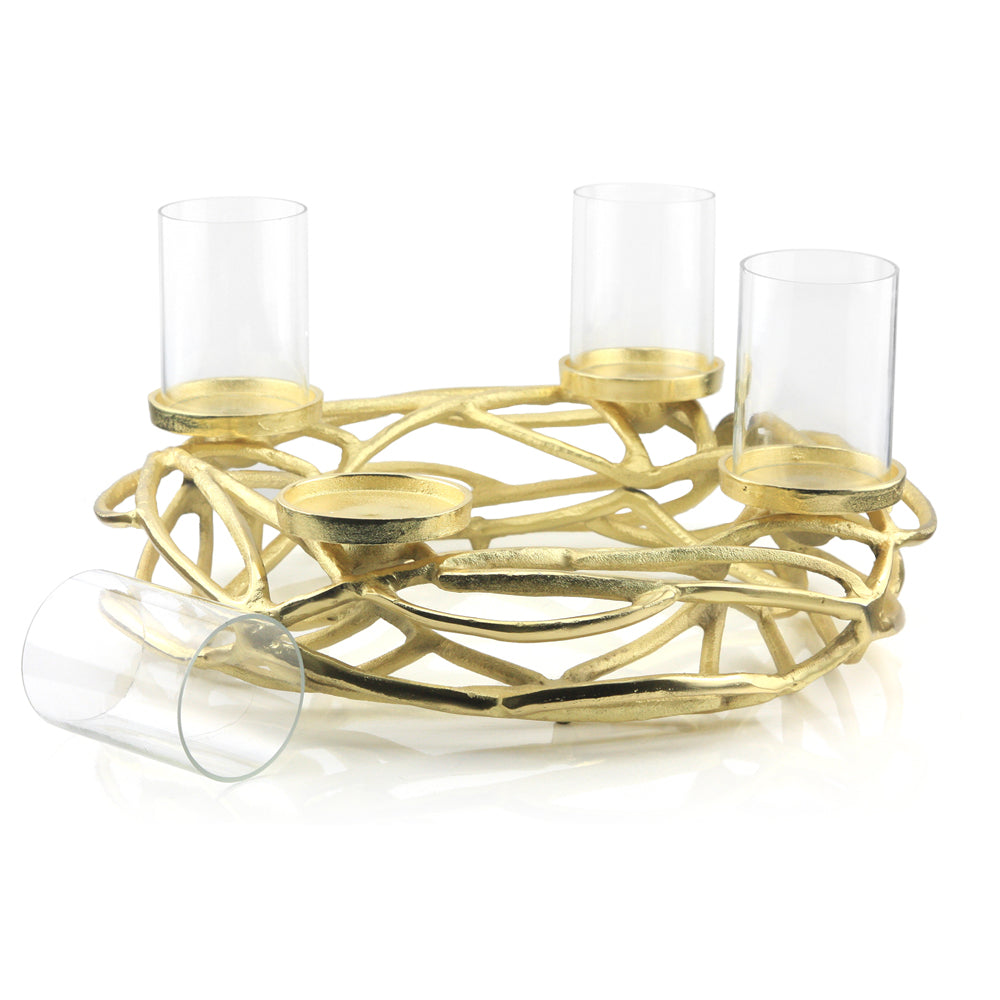 Branch 4-Light Candle Holder