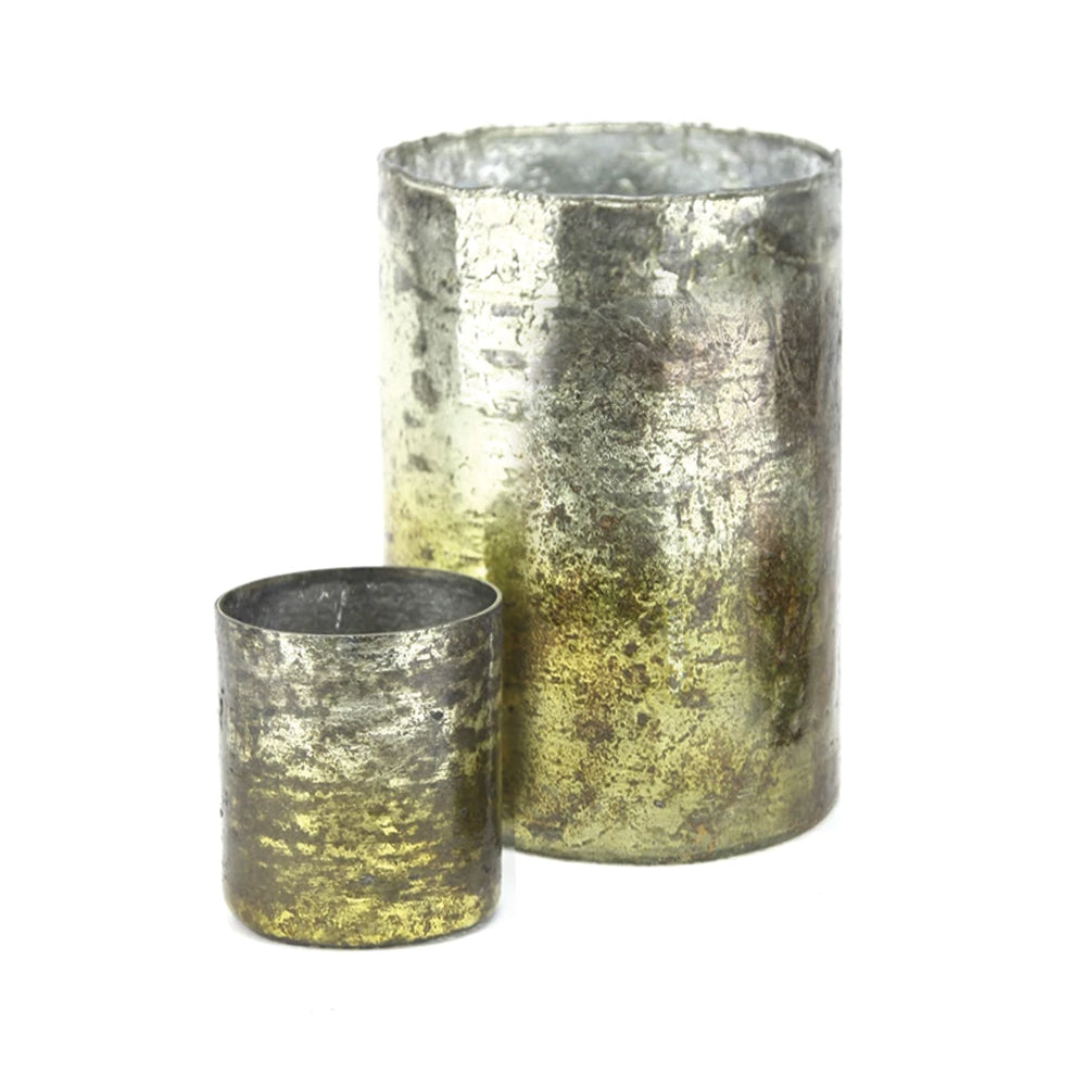 Rustic Glass Cylinders
