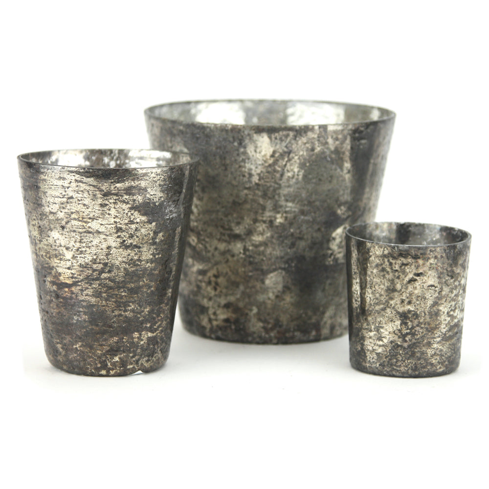Rustic Glass Tapered