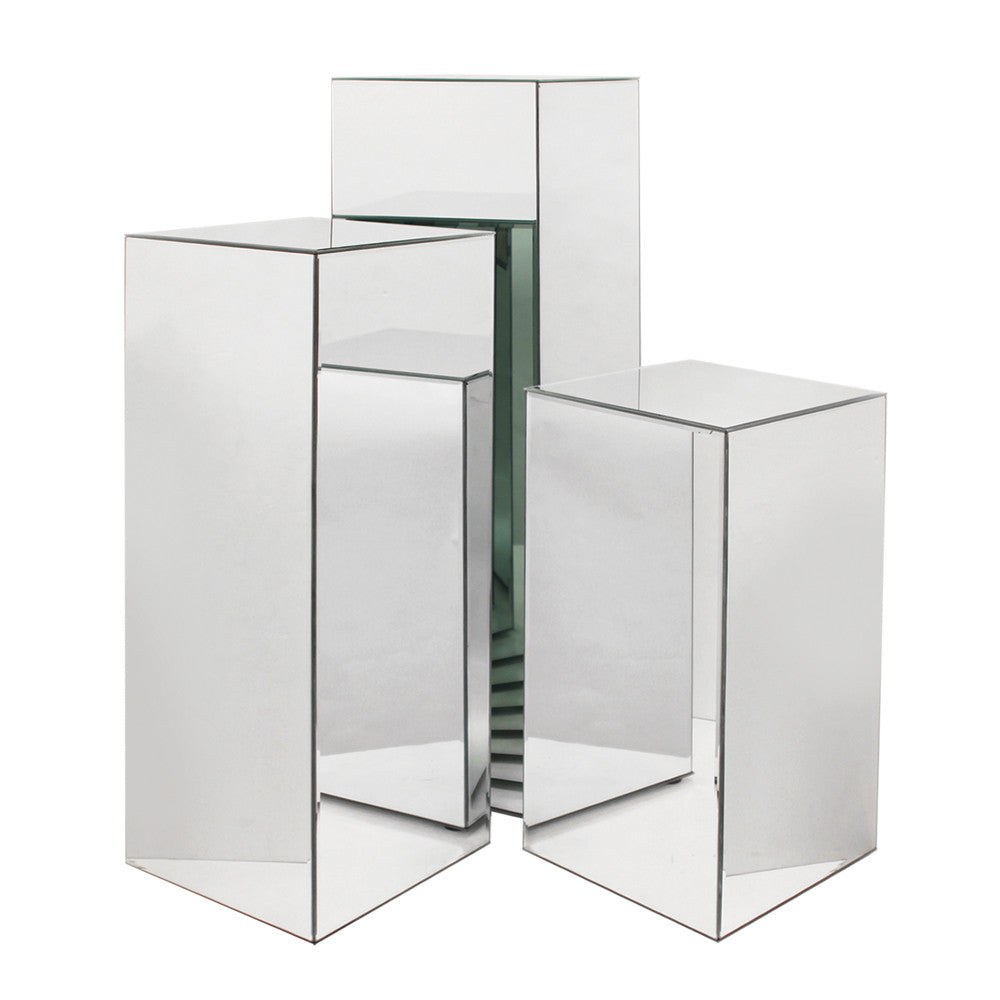 Mirror Glass Columns