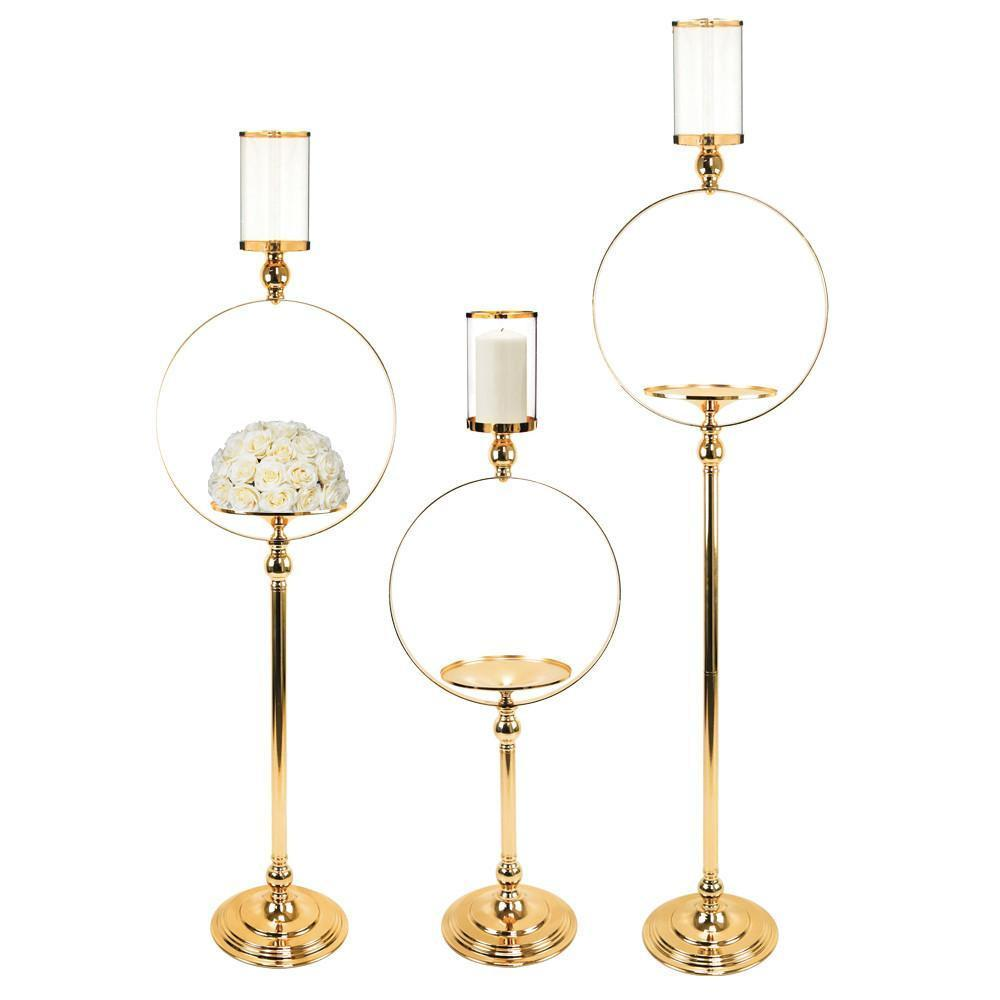 Circle Candle Stand