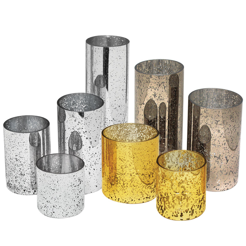 Antique Coated Glass Cylinders