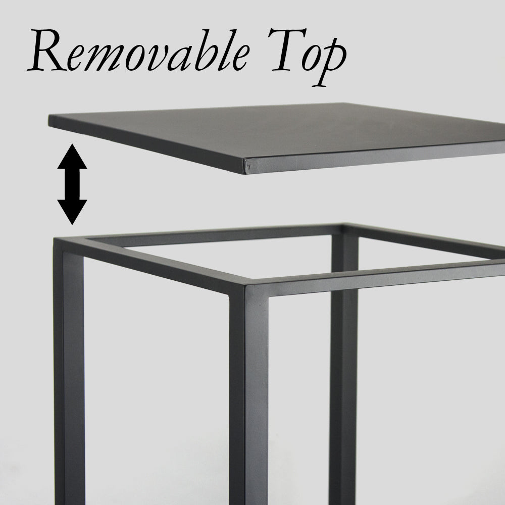 Metal Stand Display Pedestal (Powder Coated)