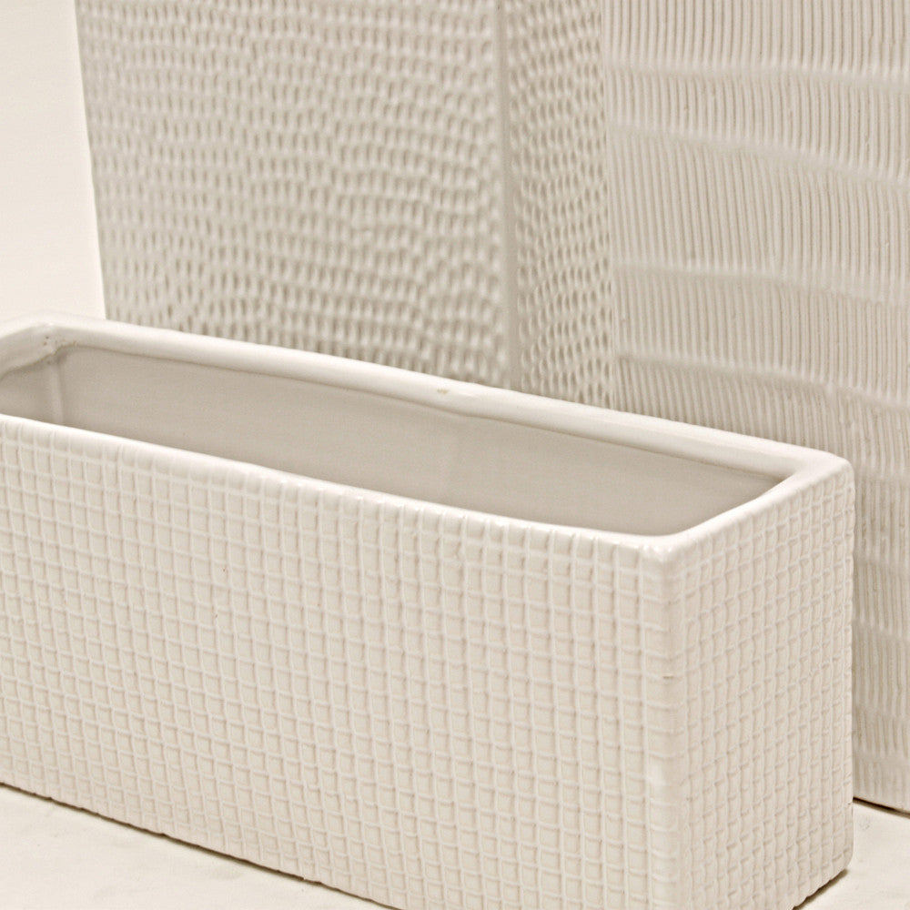 Contemporary Textured Planters