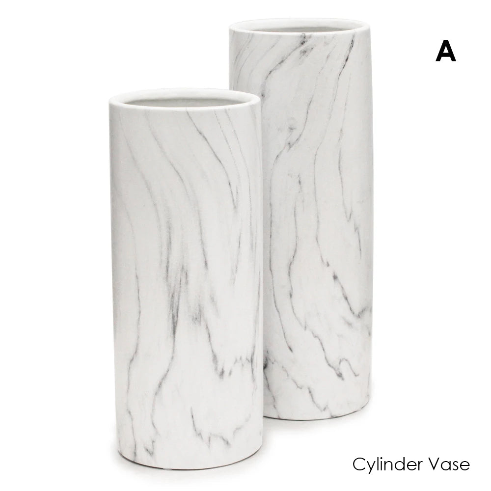 Black and White Marble Collection