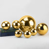 Gold Stainless Steel Spheres