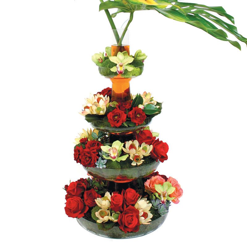 Four Tier Flower Fountain - First Tier