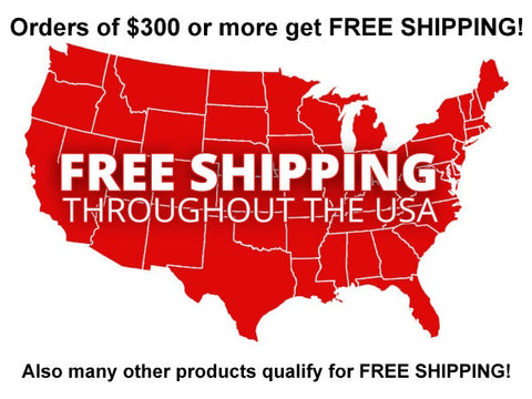 Free US Shipping on some items and orders!