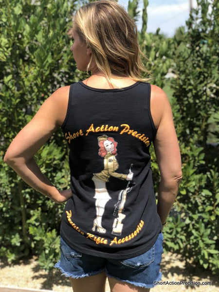 SAP Black Ladies Tank Top 2.0