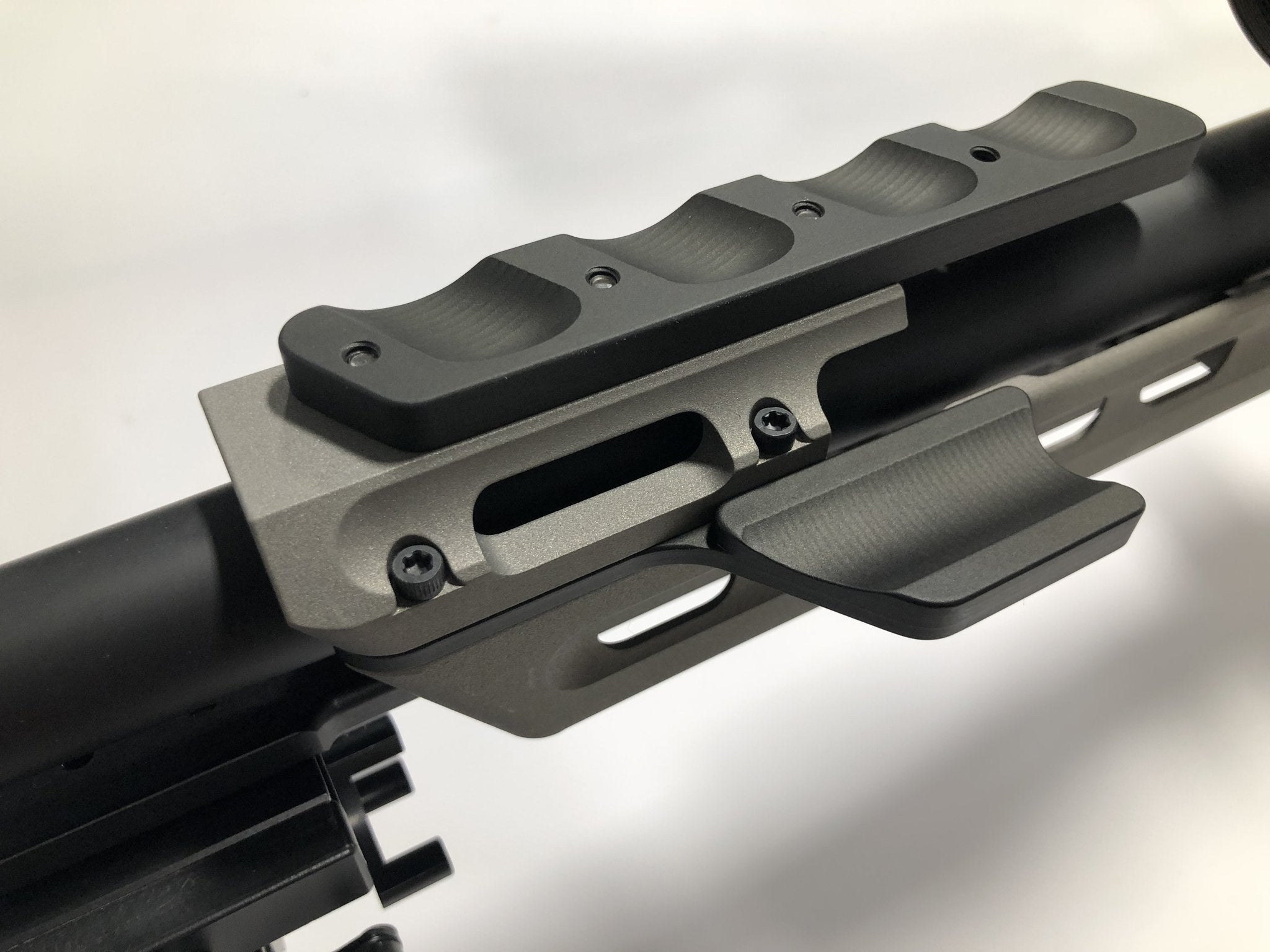 Gray Ops CNC Thumb Rest / Rail for MPA Chassis – Short