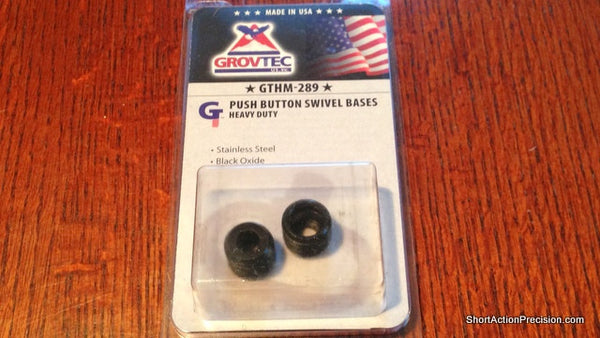 Grovtec Push Button Swivel Bases