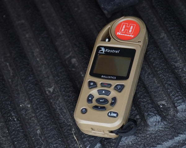 Kestrel 5700 Hornady Weather Meter with 4DOF Ballistics and Bluetooth