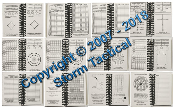 Storm Tactical Rimfire Mini Data Book
