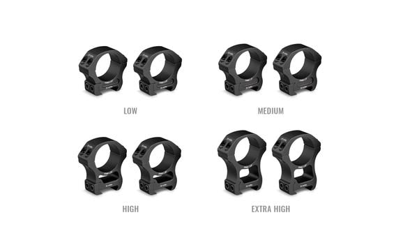 Vortex 30mm Pro Series Rings