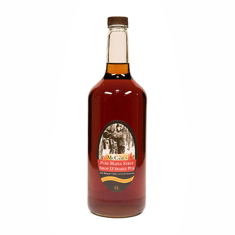 Pure Ontario Maple Syrup ~ Whiskey Bottle