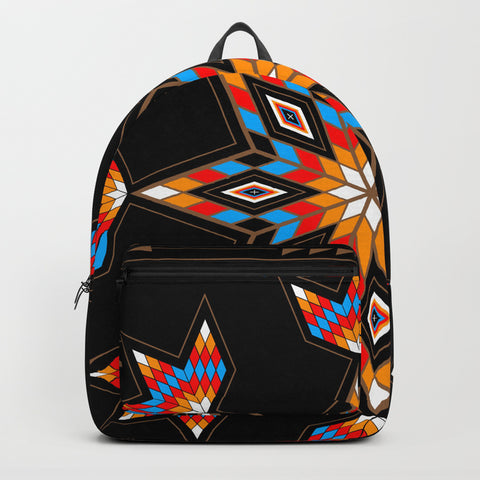 Native American Backpack by Melvin War Eagle New York Fashion