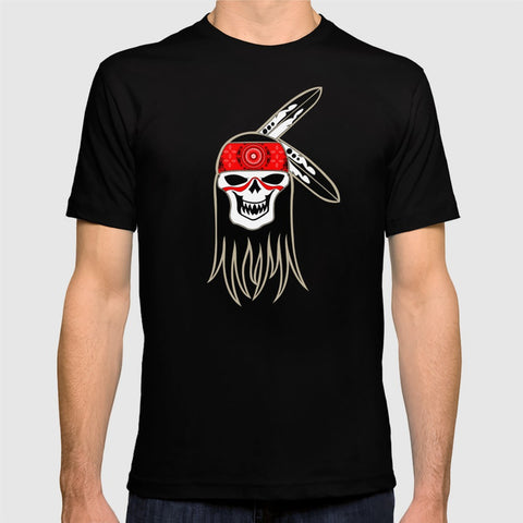 Native American T-shirt by Melvin War Eagle on Red Bubble and Society6