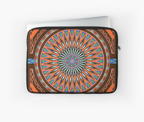 Native American Laptop Sleeves by Melvin War Eagle