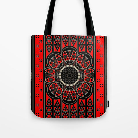 Lady Bug Tote Bag by Melvin War Eagle