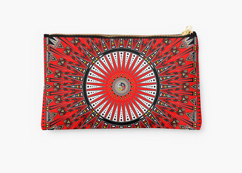 Native American pouches hand cases clutches by Melvin War Eagle