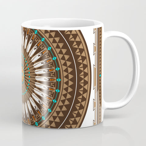 Native American Travel Mugs and Coffee Cup by Melvin War Eagle