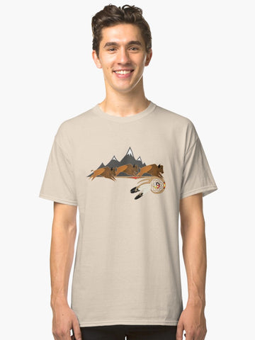 Native American Classic Tshirts by Melvin War Eagle