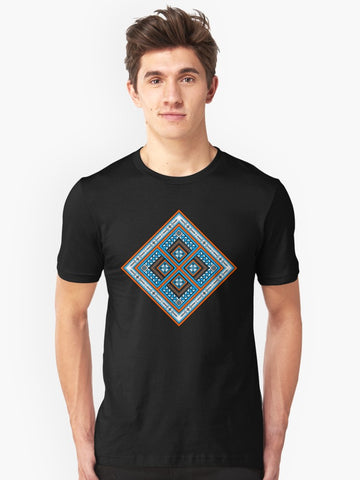 Native American T-shirt by Melvin War Eagle