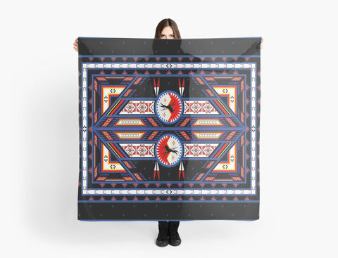Native American Scarves by Melvin War Eagle