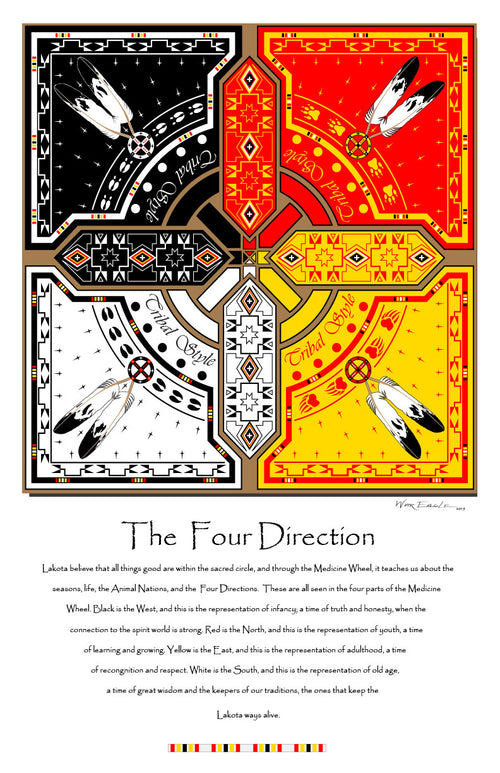 Four Directions Home Decor Gallery Prints - Hanblechia Designs