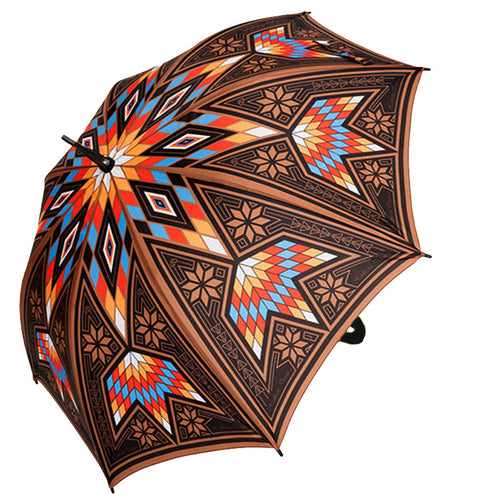Native American Umbrella, Umbrella, USA Umbrella, Australia Umbrellas, Hanblechia Designs, Melvin War Eagle
