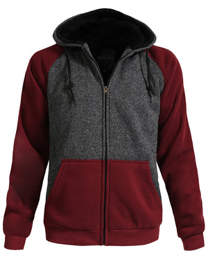 VARSITY COMFORTABLE BASEBALL JACKET WITH HOODIE NEMJ1001