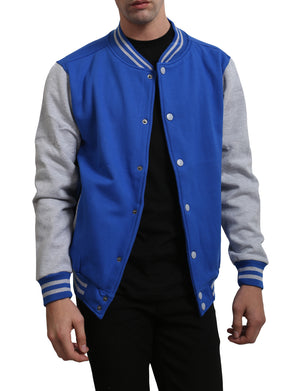 VARSITY BASEBALL JACKET WITH HOODIE NEMJ16