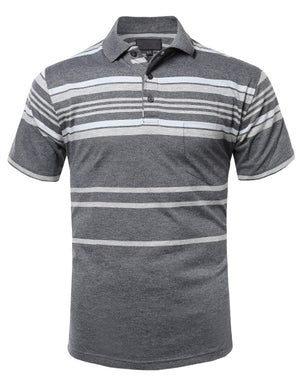 BASIC STRIPE POLO T-SHIRTS NEMMT273