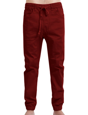 HAREM SLIM FIT ADJUSTABLE JOGGER PANTS NEMP08