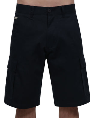 CASUAL FITTED SOLID CARGO SHORT MULTIPLE POCKET NEMP09