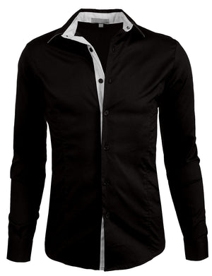 SLIM FIT TAILORED BUTTON DOWN SHIRTS NEMT05