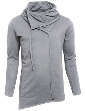 CASUAL LOOSE NECK HOODED SWEAT-SHIRTS NEMT17
