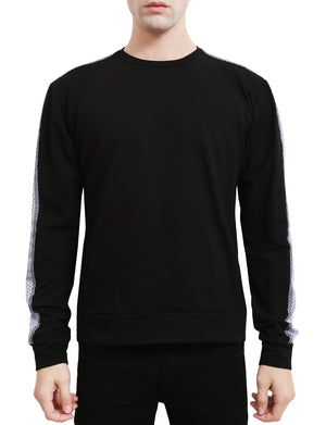 LIGHT WEIGHT PULLOVER CREW NECK LONG SLEEVE SWEAT-SHIRTS NEMT34