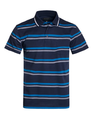 BASIC STRIPE POLO T-SHIRTS NEMT346