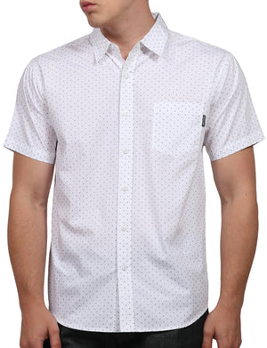 PRINTED SHORT SLEEVE BUTTON DOWN SHIRTS NEMT57