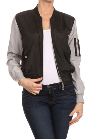 CLASSIC QUILTED STYLES BOMBER JACKET COAT NEWBJ03