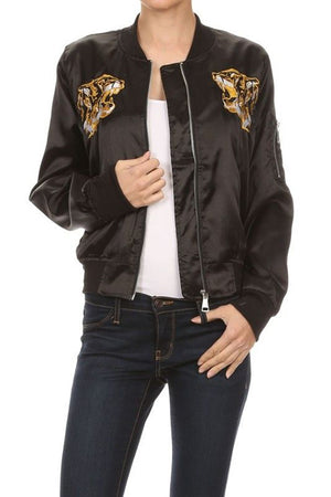 BASIC QUILTED STYLES BOMBER JACKET COAT NEWBJ05