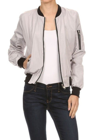 CLASSIC QUILTED STYLES BOMBER JACKET COAT NEWBJ08