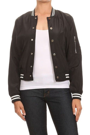 CLASSIC QUILTED STYLES BOMBER JACKET COAT NEWBJ09