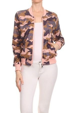 CLASSIC QUILTED STYLES BOMBER JACKET COAT NEWBJ11