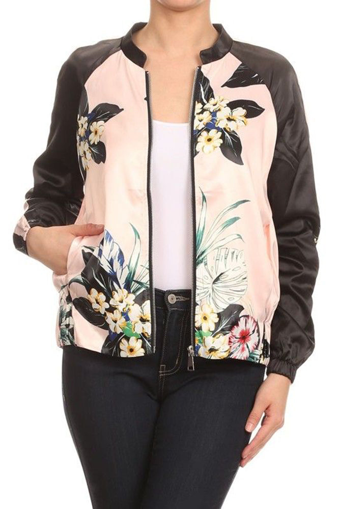 CLASSIC QUILTED STYLES BOMBER JACKET COAT NEWBJ12